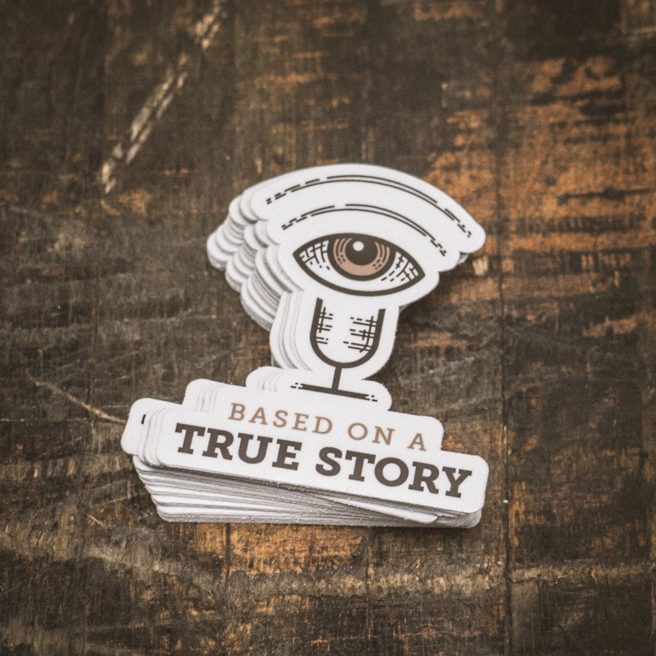 Based on a True Story Podcast Stickers